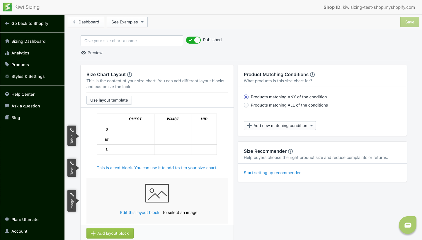 Kiwi Sizing - June 2020 Updates: UI redesign + recommender update