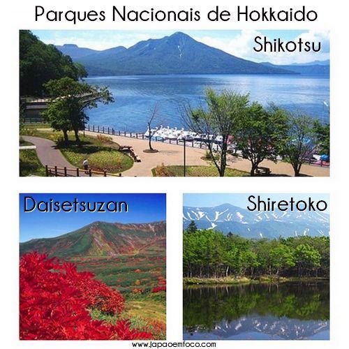 Parques Nacionais de Hokkaido