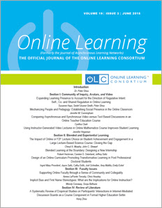 Issue 22-4 of Online Learning Journal