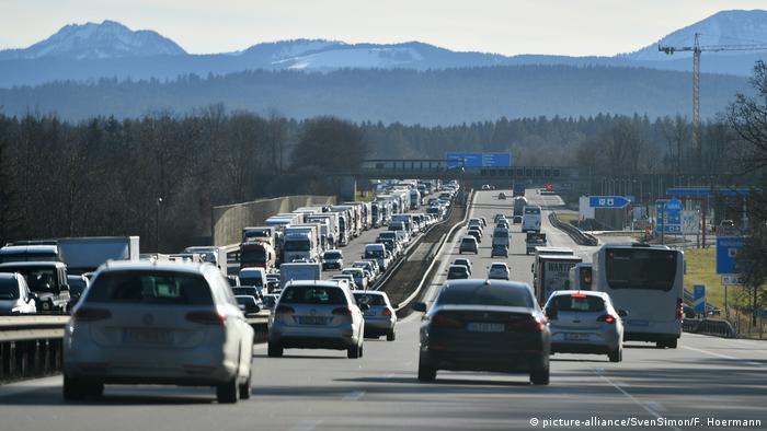 Veículos em estrada da Alemanha