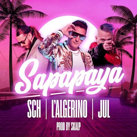 Cover single L'Algérino, SCH, Jul