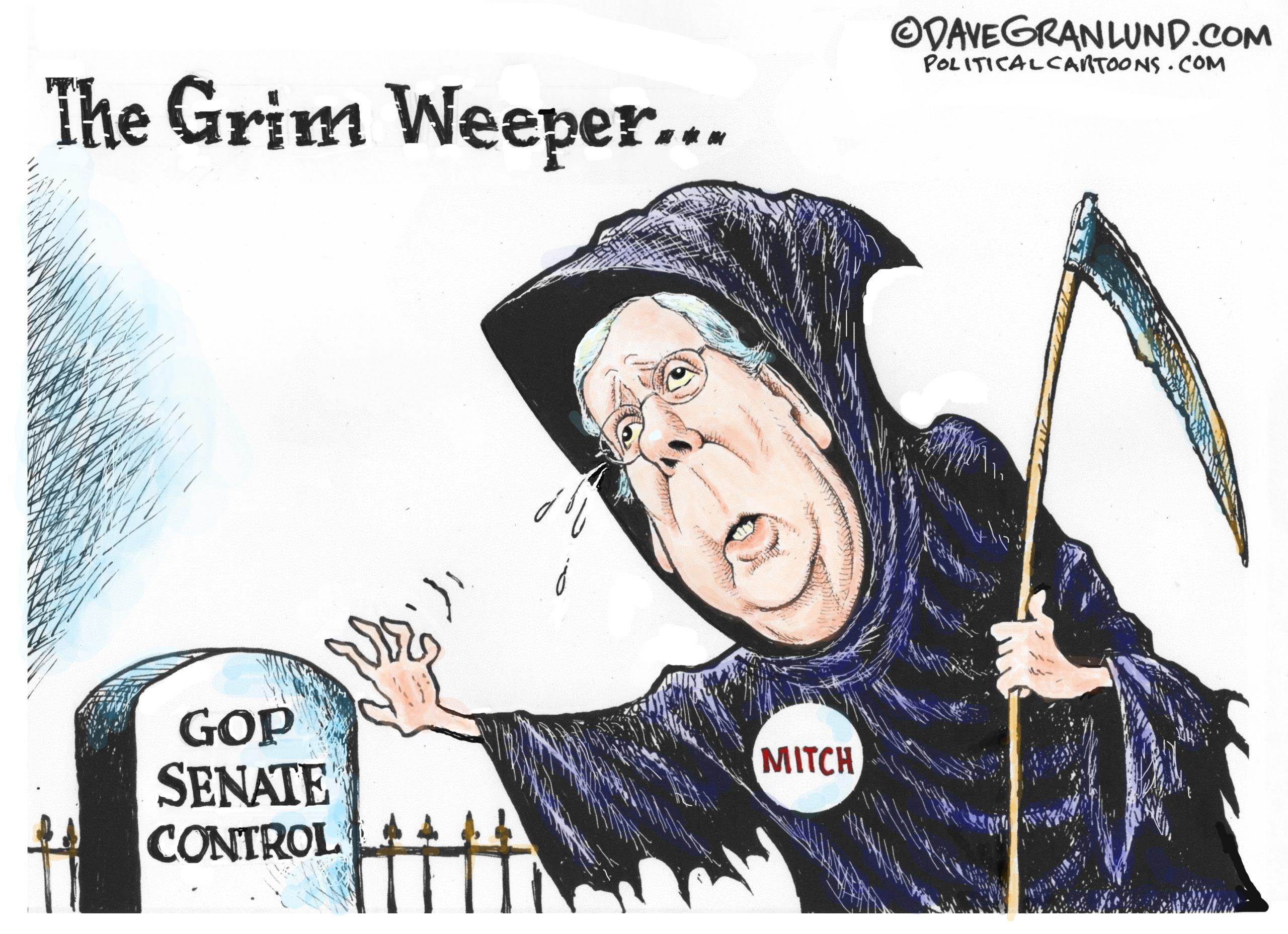 Mitch McConnell - Grim Weeper GOP