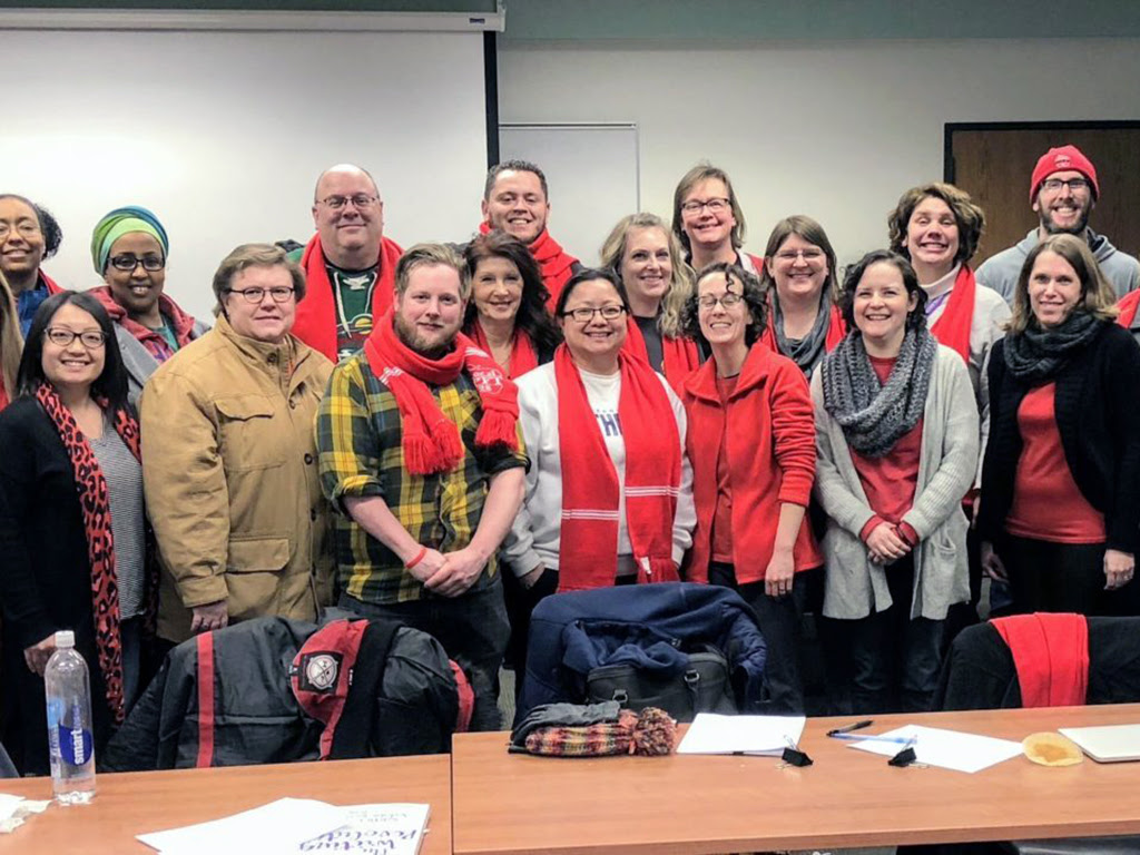 merged bargaining team brings gains for saint paul educators
