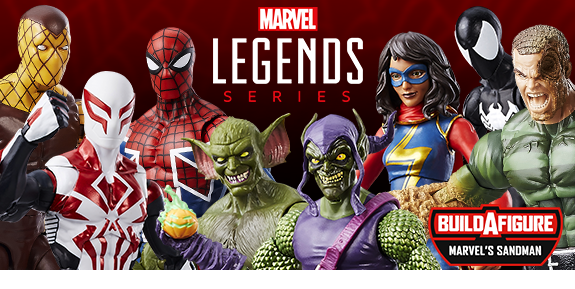MARVEL LEGENDS SPIDER-MAN FIGURES