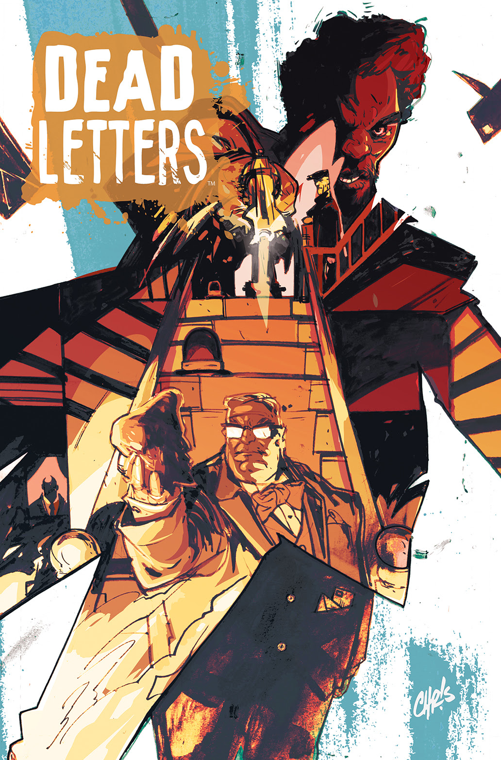 DEAD LETTERS #2 Cover A by Chris Visions