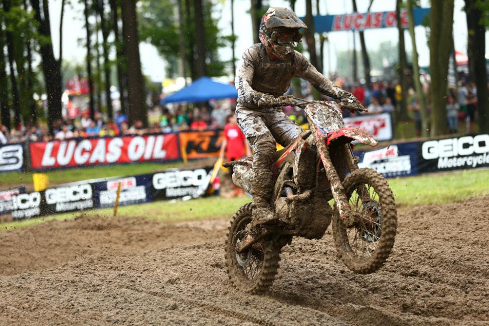 Roczen earned his fifth runner-up finish in the past six races.