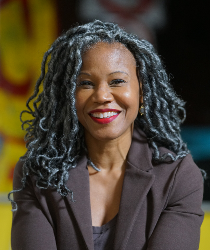 Majora Carter – Environmental Justice advocate to talk about her new book, Monday May 3rd, 3:15-4 PM.