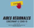 Covid 19: aides régionales