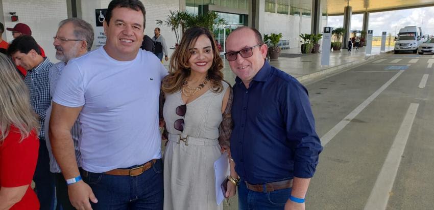 Deputado Marquinho Viana participa com Rui Costa, prefeitos e deputados da inauguração da Policlínica em Conquista