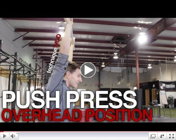 Overhead Position for Push Press in CrossFit - Technique WOD