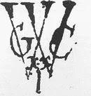 Monogram van de West-Indische-Compagnie