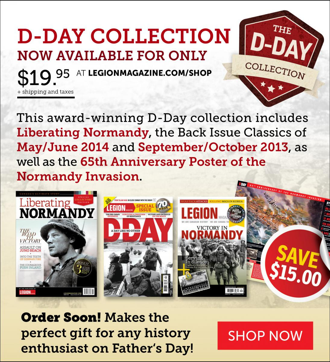 D-Day Collection Gift Pack!