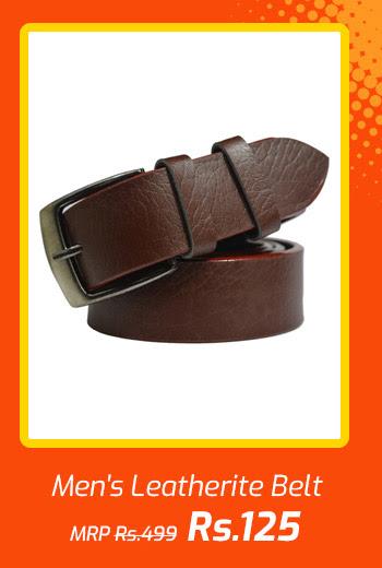 Men's Leatherite Belt
