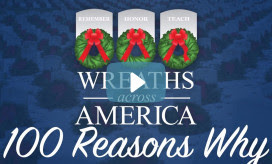100 Reasons Why Campaign Kicks Off This Week