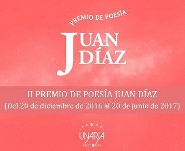 II Premio de Poesía Juan Díaz