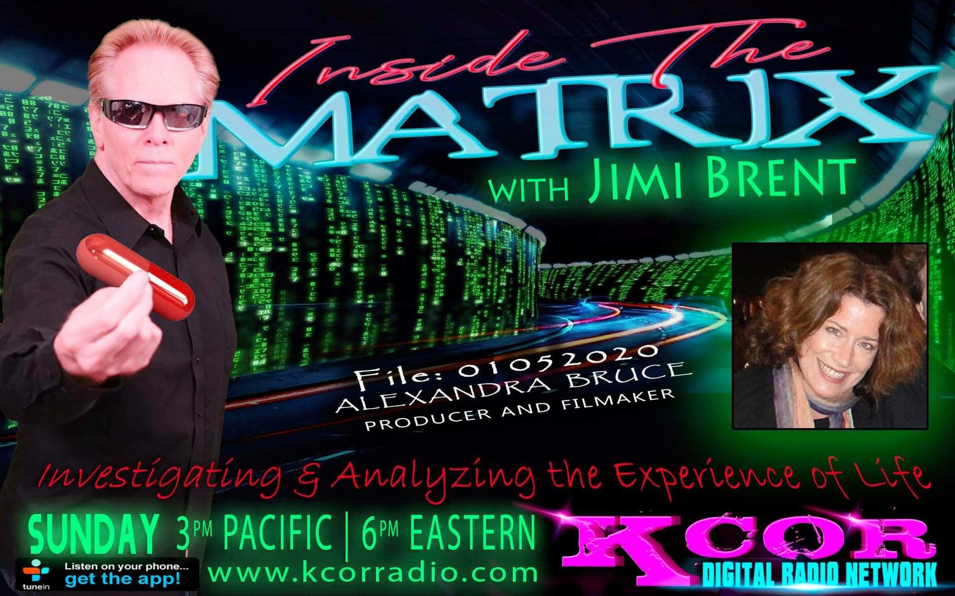 Inside The Matrix 1-5-20 with Alexandra Bruce PpgncITvWh