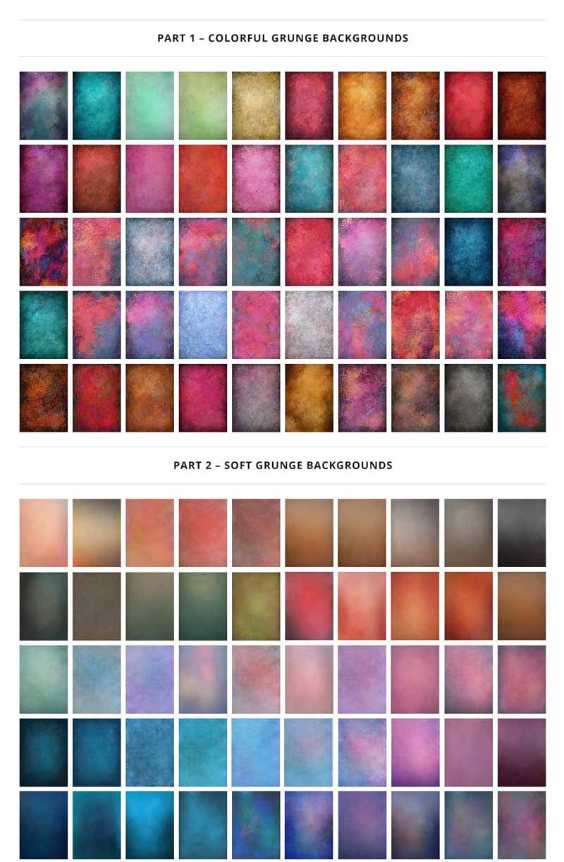 Colourfu & Soft Backgrounds