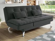 Sofá-cama Suede Reclinável Linoforte