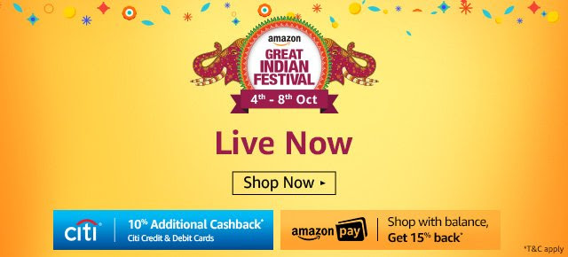Great Indian Festival | LIVE NOW