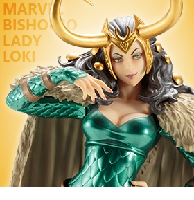 1/7 SCALE LADY LOKI