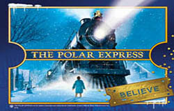 Meet and ride with Santa on the Polar Express Train