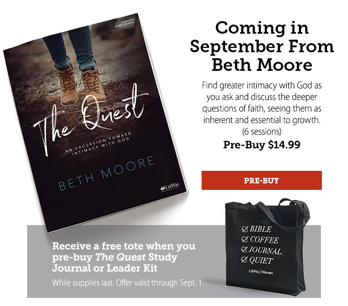 The Quest - Beth Moore Pre-buy