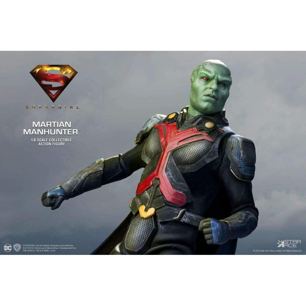 Image of Supergirl (TV Series) Real Master Series Martian Manhunter 1/8 Scale Figure - JULY 2019