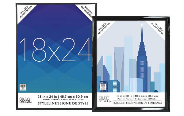 Styleline™ & Trendsetter™ Poster Frames