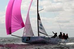 J/70 sailing Danish sailing league