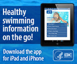 Image of CDC Healthy Swimming app