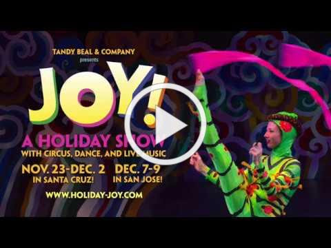 JOY! A holiday show with circus, dance, and live music