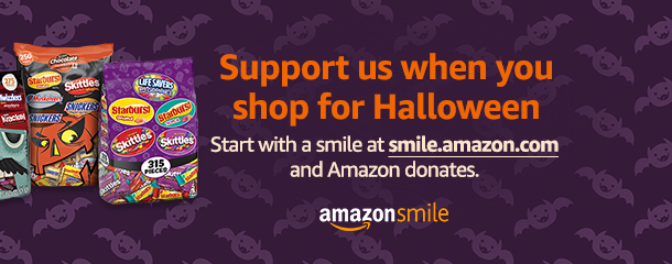 Smile with Halloween shopping
