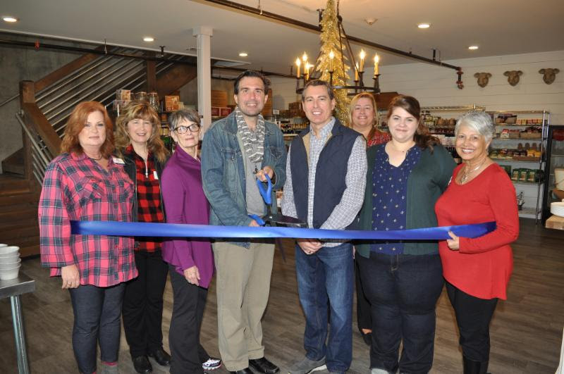 gather Blue Ridge Ribbon Cutting
