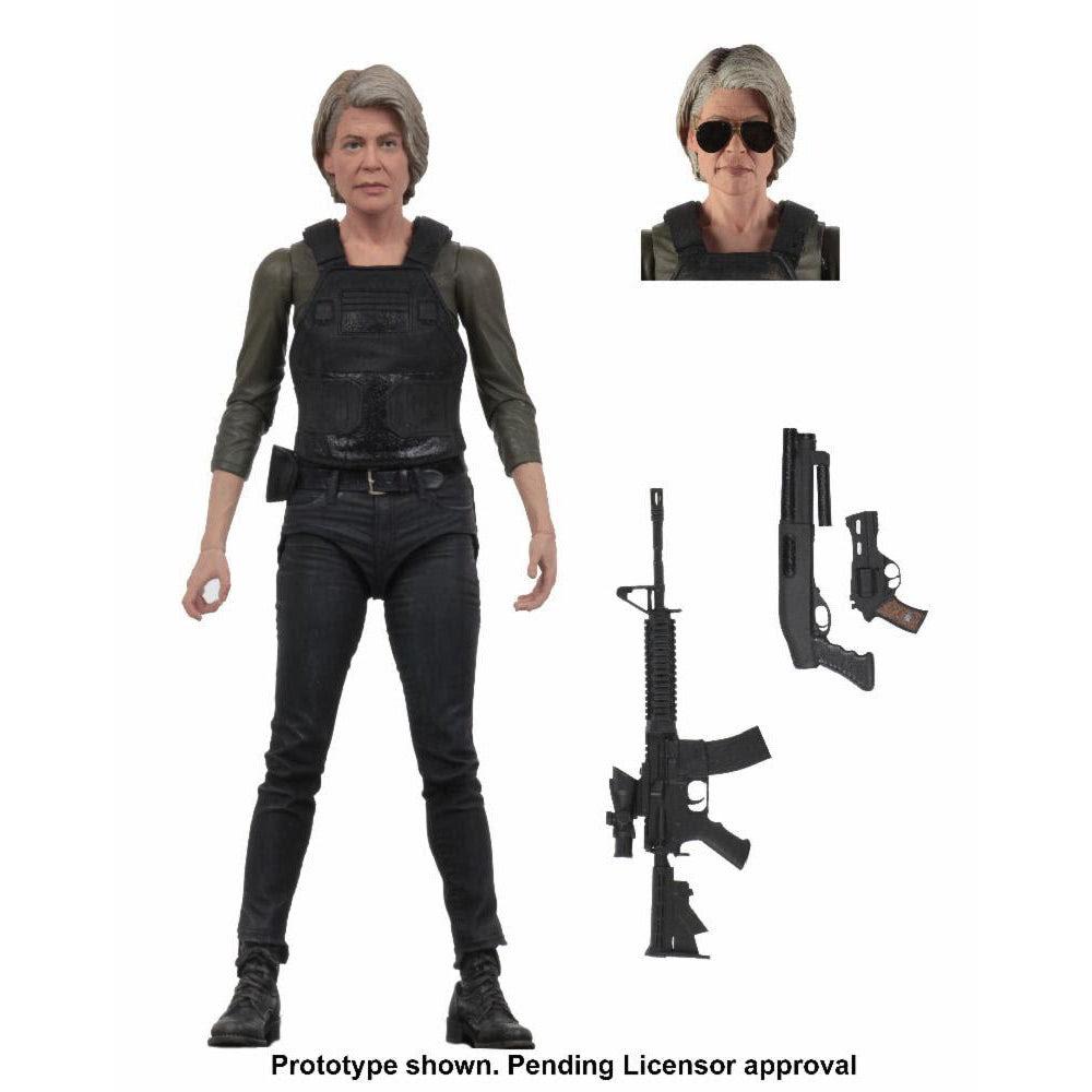 "Image of Terminator Dark Fate (2019) - 7"" Scale Sarah Connor Action Figure - OCTOBER 2019"