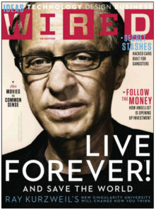 wired ray kurzweil cover live forever 378x512 - Inmortalidad artificial