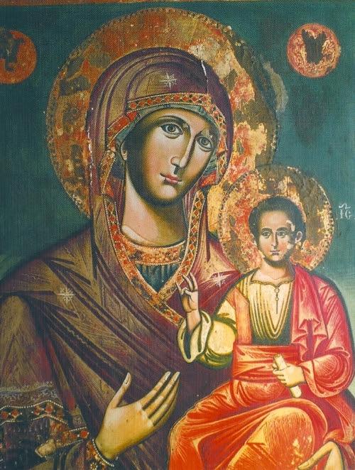 Παναγία η Οδηγήτρια ,Σκήτη του Αγίου Βασιλείου -Άγιο Όρος Φωτό:diakonima.gr