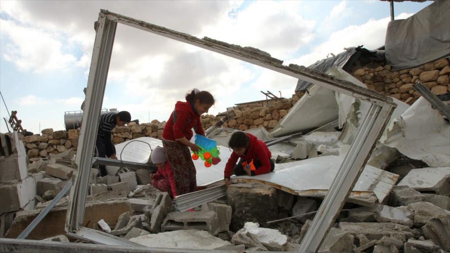 ONU: Israel cuadruplicó en 2016 la demolición de casas palestinas