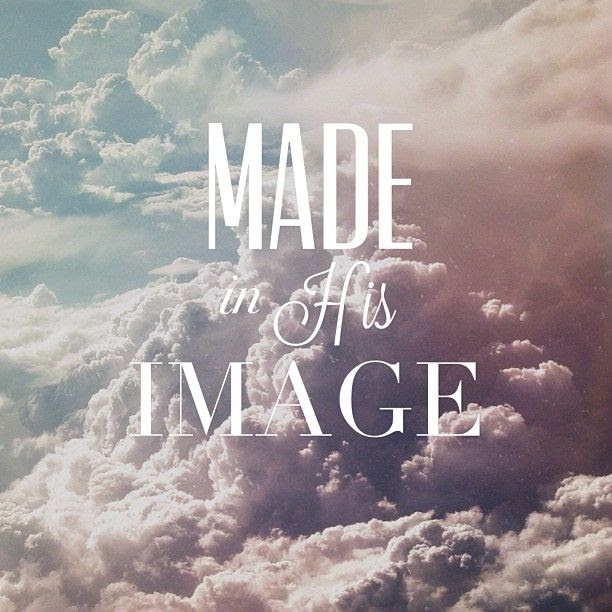 So God created man in his own image, in the image of God he created him;  male and female he created them. Genesis 1:27 | God, Gods love, Word of god