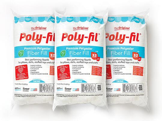 Poly-Fil 32 oz Fiberfill.