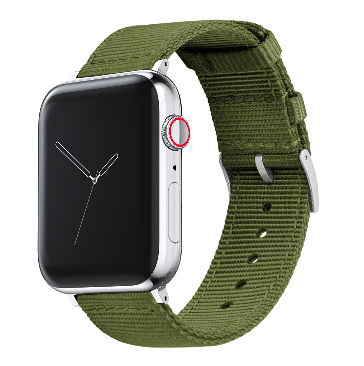 Image of Apple Watch | Two-piece NATO Style | Army Green