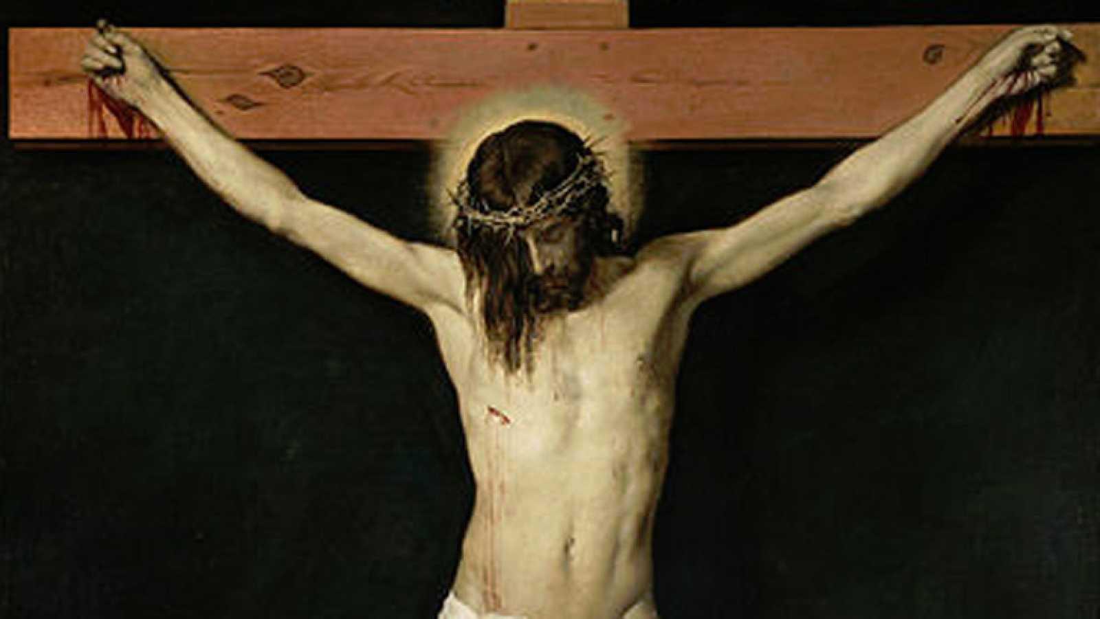 Resultado de imagen para el cristo de velazquez pintura