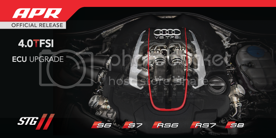 APR Stage 2 ECU Upgrade and Downpipes Dual Release for S6, S7, RS6, RS7, S8!