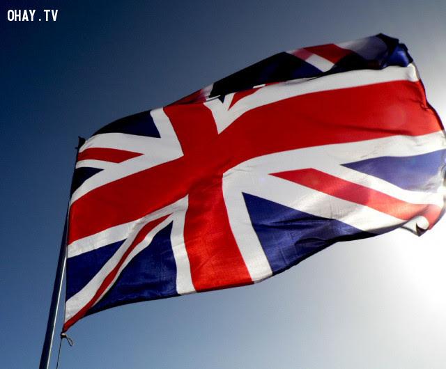 3. Vương quốc Anh,ý nghĩa quốc kì,lá cờ của các nước,những điều thú vị trong cuộc sống