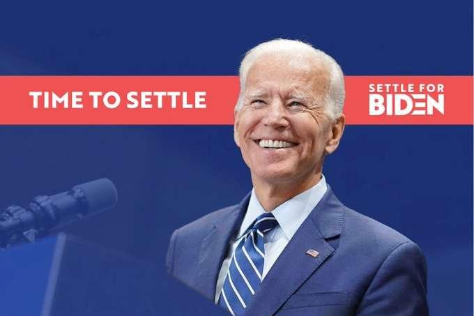 Settle for Biden