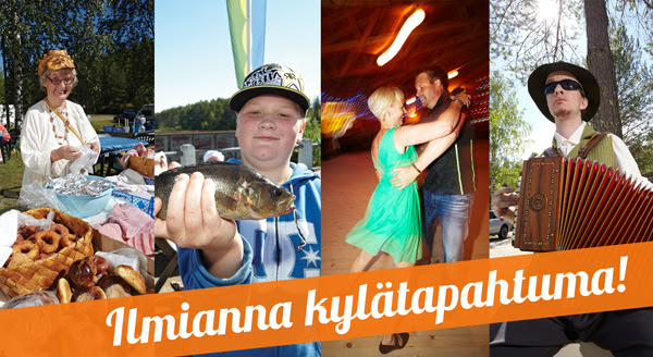 Suomen kylistä löytyy tapahtumien kirjoa. Lataa viestin kuvat!