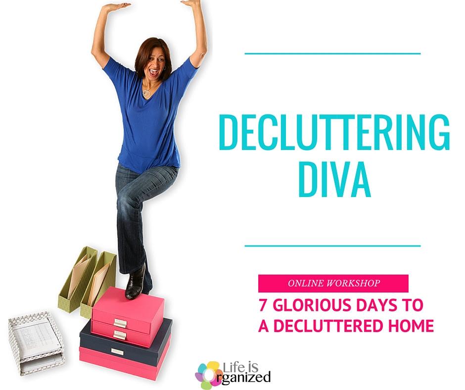 Free Decluttering Diva Workshop