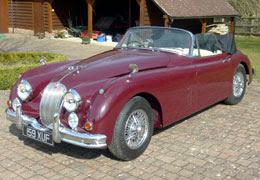 1960 Jaguar XK150 3.4 Litre