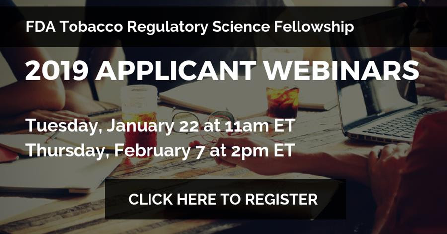 2019 Applicant Webinar Registration