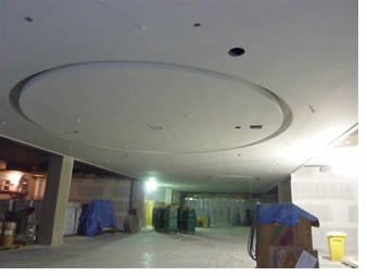 Lower ceiling