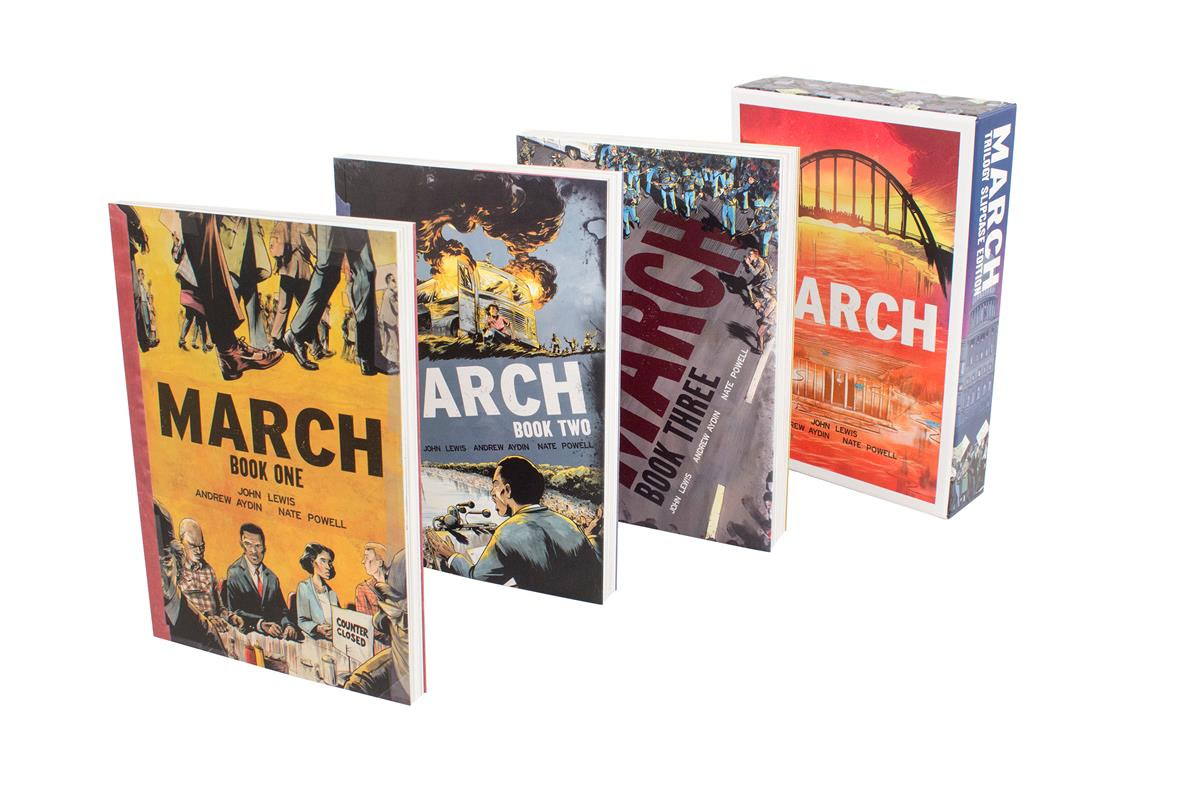 John Lewis's MARCH + National Book Award: perfect for your holiday gift guide!